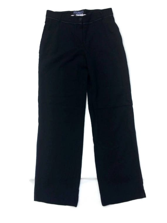 womens Blogger FERRAGAMO Black PALAZZO SALVATORE Streetstyle Hipster 90's pants designer trousers Womensfashion Womenswear Vintage qxwO6nFRx