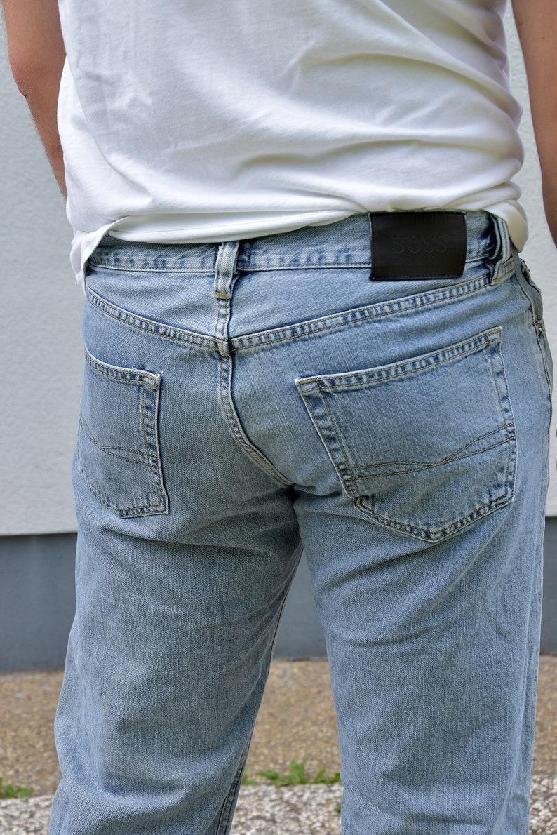 32135c8a5 90's HUGO BOSS Straight Leg Casual Men's Jeans. | Etsy