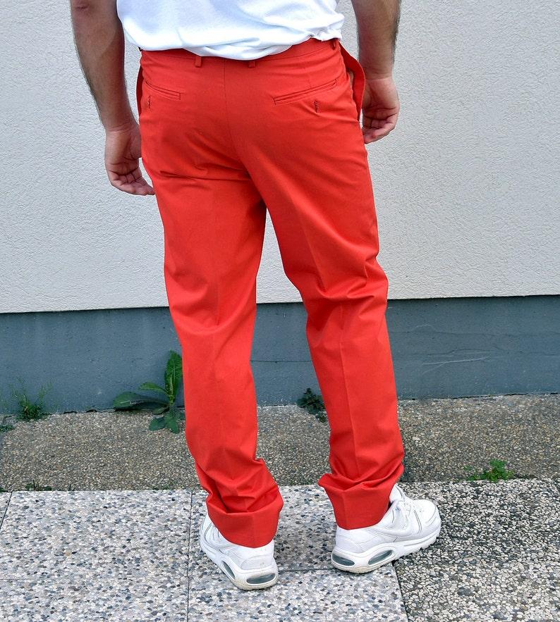 Cotton   Workwear Rave pants .size  Large 33/'/' 90s Orange Work Trousers Men Straight leg