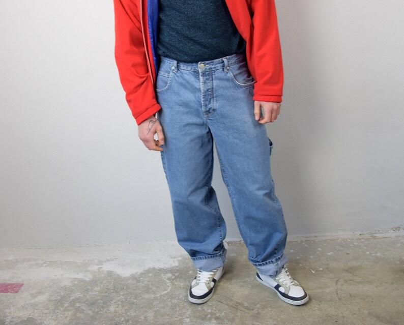 67559831d6a Men's Baggy Pants // 90's HIP HOP Pants Mens Jeans | Etsy
