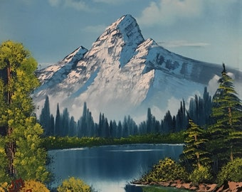 A Highest Peak, Bob Ross Style