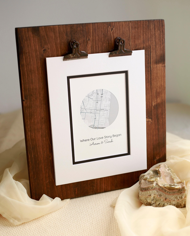 Engagement Frame Couples gift Wedding Personalized Frame Wedding Frame Newlywed Gift Wedding Gift Personalized Engagement