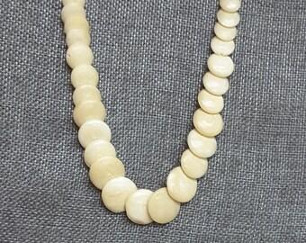Unique Vintage SHELL NECKLACE Collectible Tropical Necklace