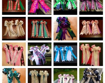 a584322a8ca5 Equestrian Competition Show Bows, Wholesale Horse Show Bows, Horse Show  Bows, , You Pick Wholesale 5,10,15,20, Riding Competition, Show Bows