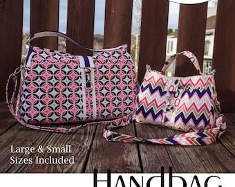 Maghann Handbag Purse Crossbody Sewing Pattern PDF