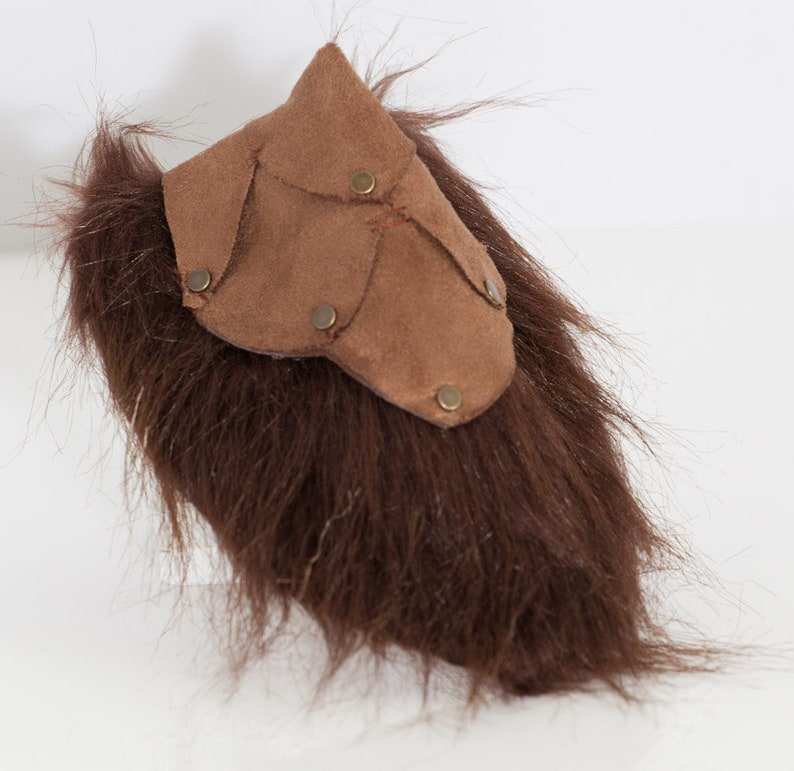 Armored Satyr Tail for LARP Fantasy Cosplay image 0