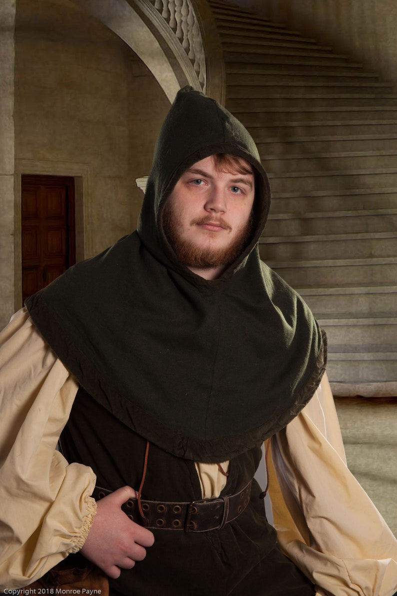 The Huntsman's Hood for LARP Roleplaying Adventure image 0