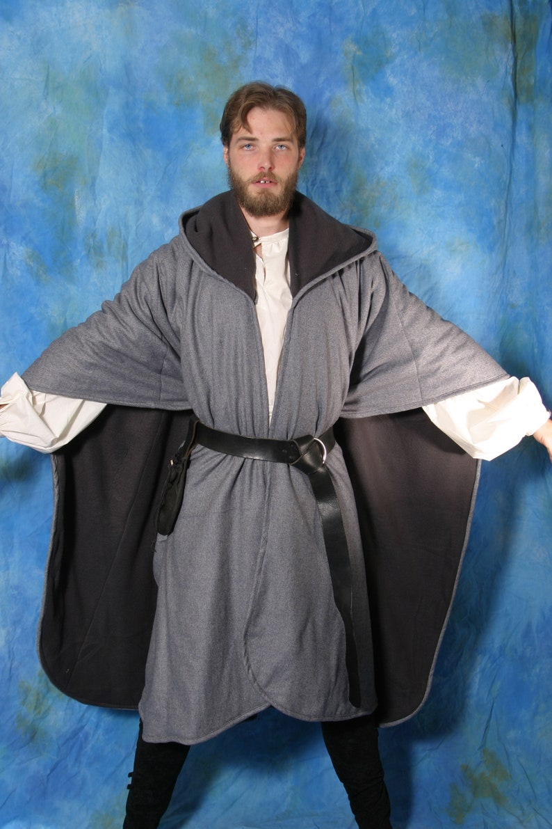Ranger Cloak for LARP Cosplay Renaissance Fair Fantasy image 0