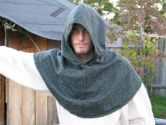 Custom Adventurer's Lilitrip Hood for LARP, Fantasy, Costume, Renaissance Faire