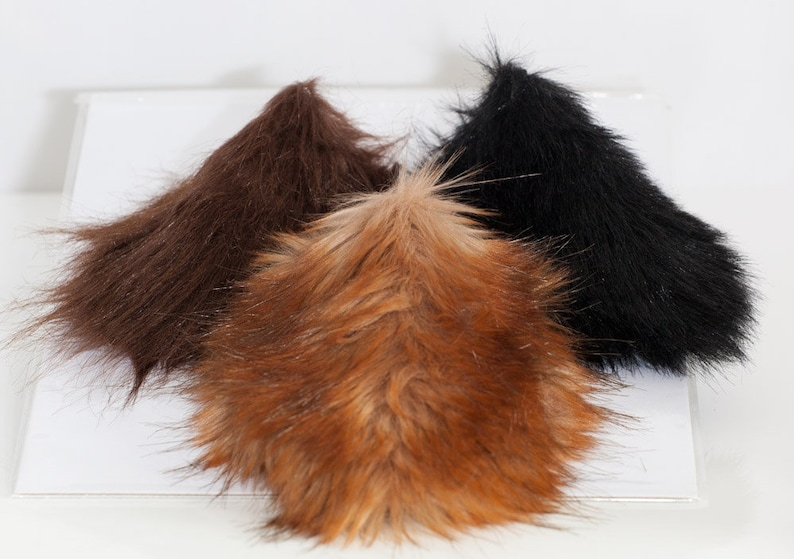 Satyr Tail for LARP Cosplay Fantasy Halloween image 0