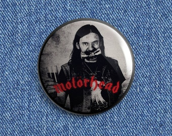 Lemmy Kilmister Beer button