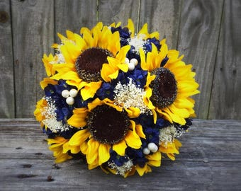 Sunflower bouquet | Etsy