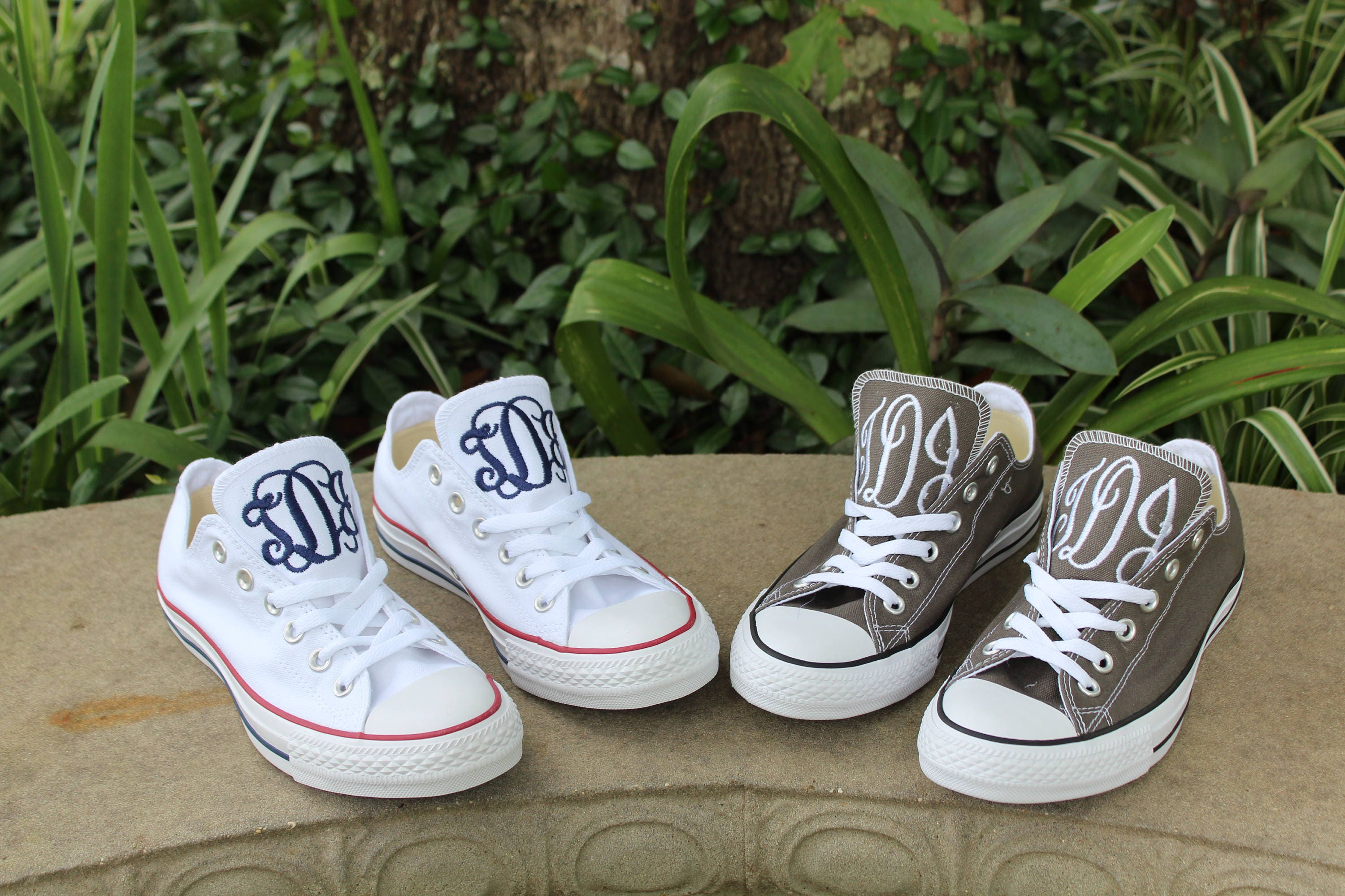 Monogrammed Low Personalized, Top Converse Shoes, initials, Personalized, Low Low Tops, Converse, All Star, Dash Forward d20a4e