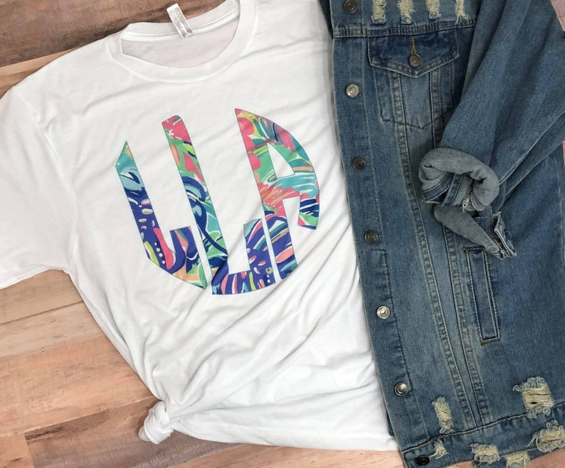9901498c63b6b Lily Inspired Personalized Graphic Tee Sublimation Monogram Unisex Tee  Cheap Birthday Gift Beach Summer Trip Shirts dashforward