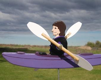 Customize Your Kayak Whirligig - Made to order.