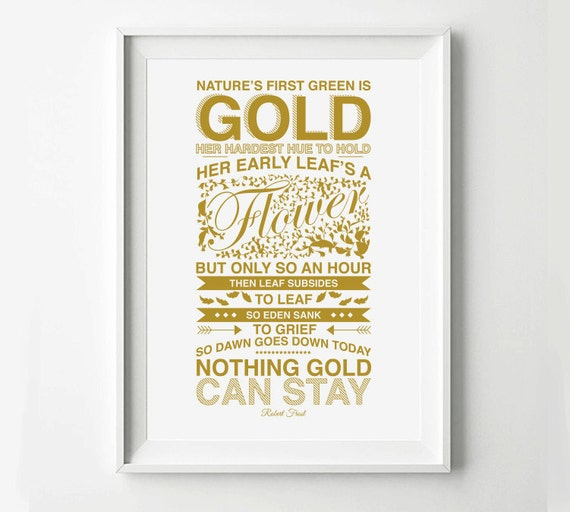 stay gold poem from the outsiders