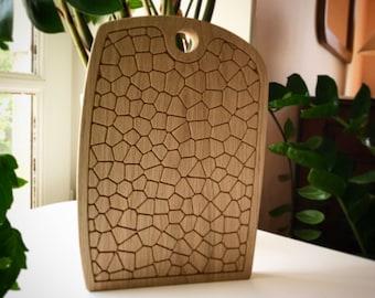 cutting board oak / design cutting board / modern cutting board / Oak cutting board / cutting board