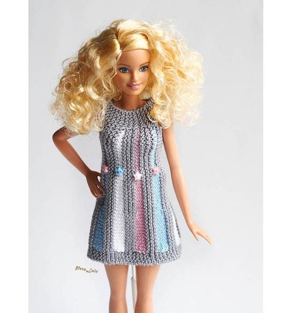Barbie Clothes Momoko vestido mini coleccionistas Barbie   Etsy