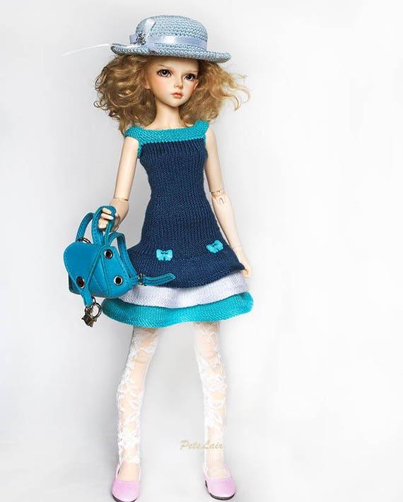 Vestido de verano turquesa oscuro para Minifee Ropa para MSD   Etsy