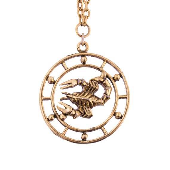 Celebrity Scorpio Necklace