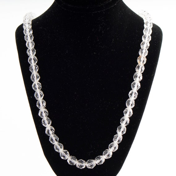 Hobe Clear Crystal Necklace