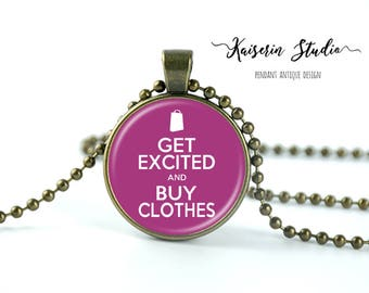 Get Excited And Buy Clothes pendant, Handmade jewelry necklace, best price and fast shipping.