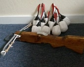 Items similar to Handmade LARP Wood & PVC Crossbow + 10 LARP
