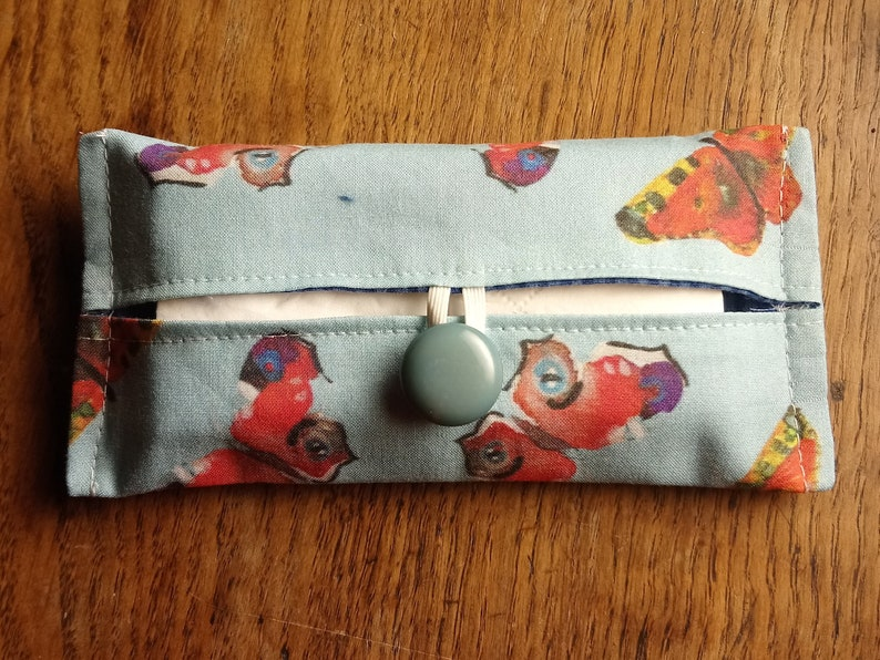 Sewing pattern for pocket tissues holder 'quick image 0