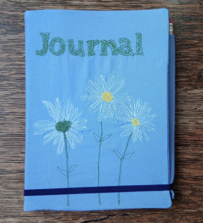 Sewing pattern: book journal diary cover free machine image 0
