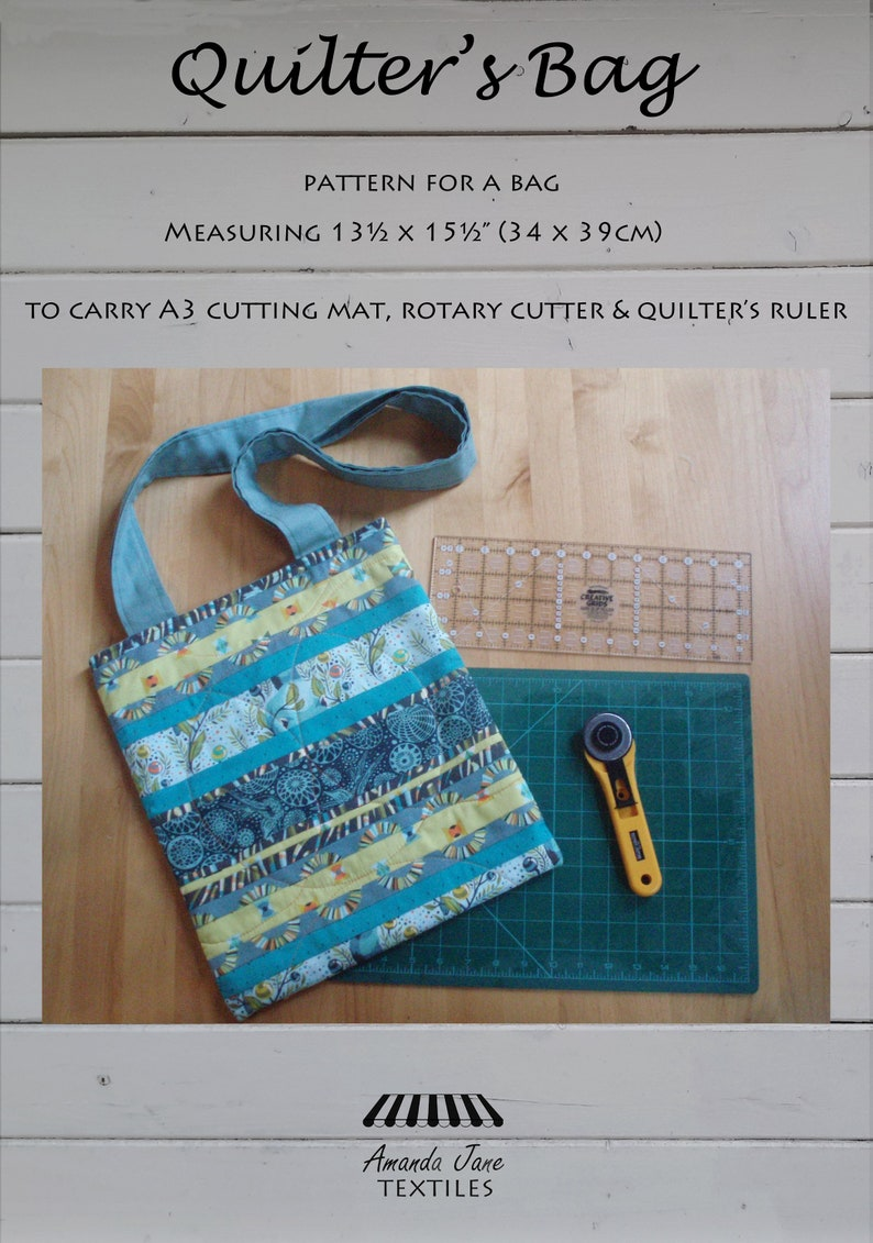 digital pattern: 'Quilter's Bag' sewing image 0