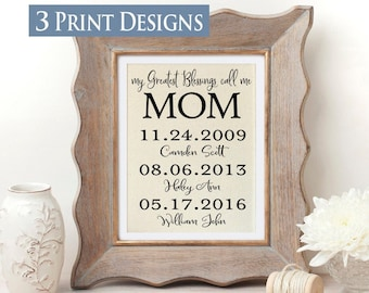 Best Christmas Gifts For 2019 Gift For Mom Personalized Etsy