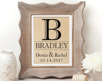 Wedding Gift Personalized Wedding Gift for Couple Wedding Gift Anniversary Gift Bridal Shower Gift Wedding Gifts Engagement Gift for Bride