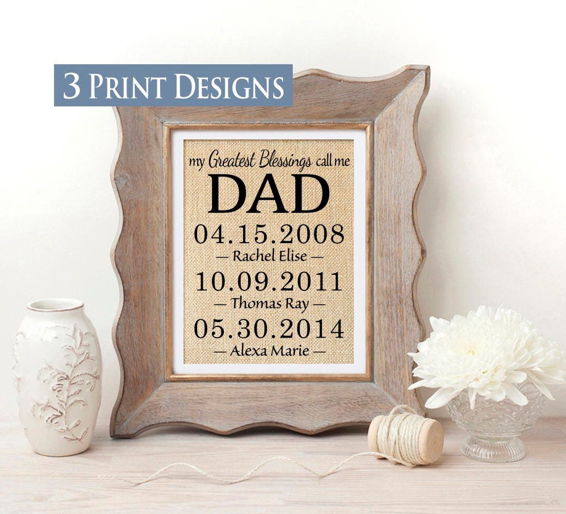 Dad Christmas Gifts From Daughter: Personalized Gift For Dad Gift From Daughter Christmas