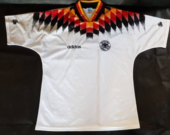 335039890 a RARE piece  1994 Germany Adidas Jersey - Usa World Cup