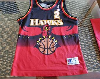 3d16465dd Unfindable Atlanta hawks augmon champion usa jersey