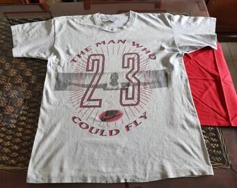 pick up b527d 99d02 Beautiful 1989 Nike Jordan T-shirt MADE IN IRELAND!