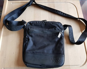 410f78ca8785 90s vintage armani jeans side bag