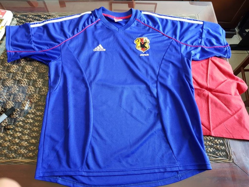 classic fit d1f17 4ae44 Vintage rare JAPAN adidas jersey
