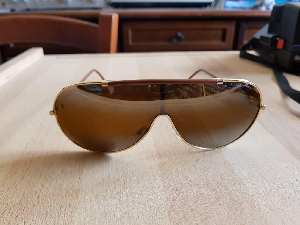 Hermosas gafas de club méditerranée hechas en Francia 80s