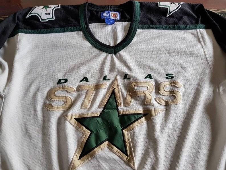 Vintage 90s dallas stars starter jersey