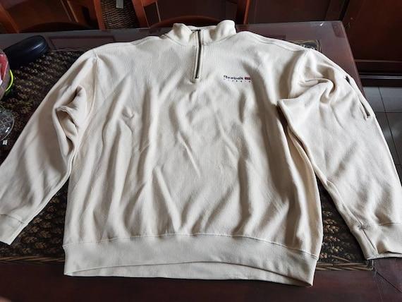 90s REEBOK CLASSIC half zip sweatshirt
