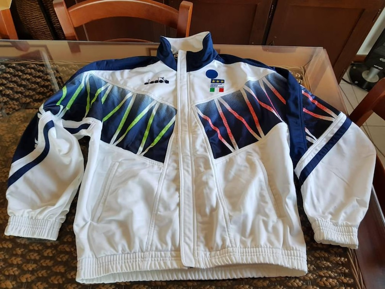 b43d58aee 1994 usa world cup Italy Roberto baggio jacket Diadora made in