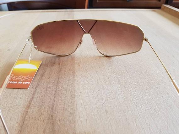 80s NOS Solgir aviator made in italy sunglasses  - image 3