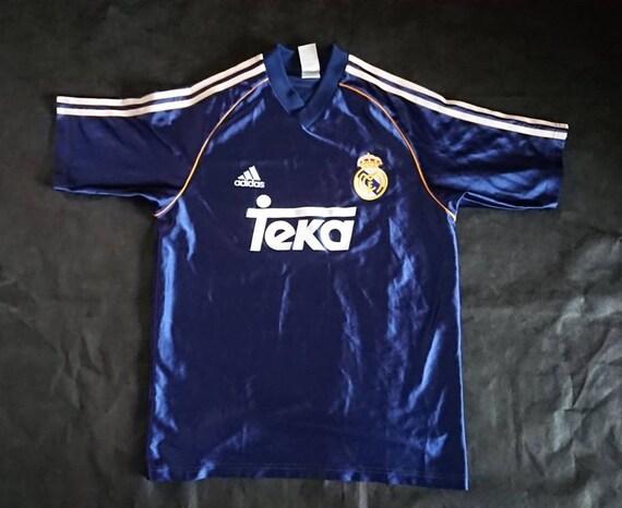 90s real Madrid teka adidas jersey
