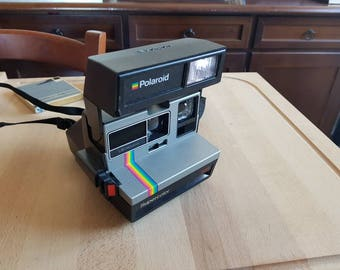 80s Polaroid supercolor 635 made in uk  - excellent conditions