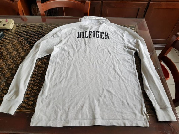 90s TOMMY HILFIGER rugby shirt!