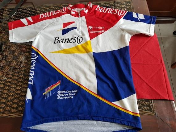Rare 90s authentic BANESTO made in italy Nalini jersey  d8f284e71