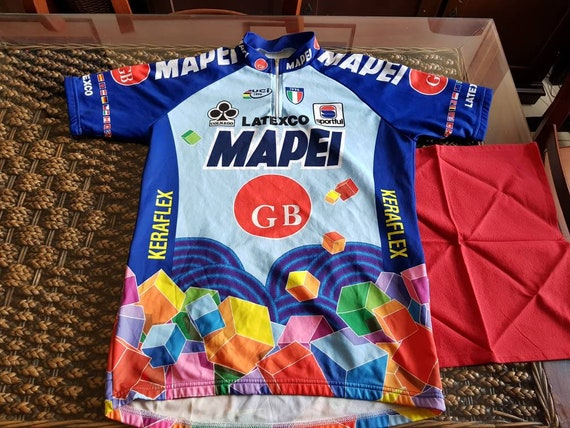 6b30d1ab2 90s Mapei gb latexco cycling team jersey most iconic