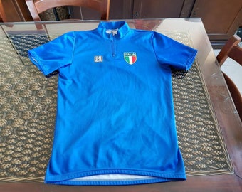 90s historic italy cycling team santini jersey