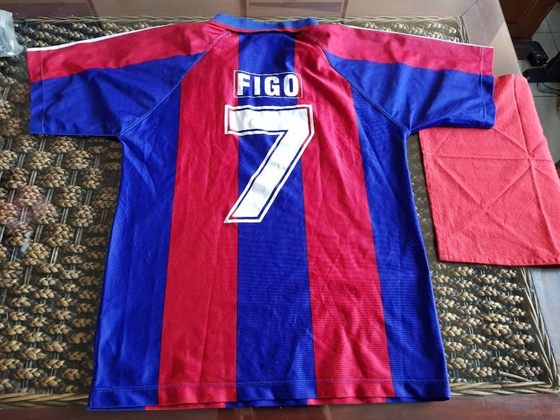 factory authentic 39985 350ae Wonderful 1996 luis figo Barcelona jersey